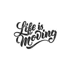 Life moves pretty fast. If you don't stop and look around once in a while you could miss it. Type by @trentkokic | #typegang if you would like to be featured | typegang.com | typegang.com #typegang #typography