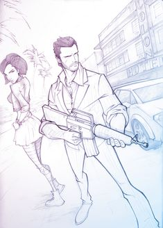 Vice City by *PatrickBrown on deviantART