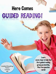 Great ideas to make sure your guided reading groups run smoothly, plus free guided reading question cards for informational texts.