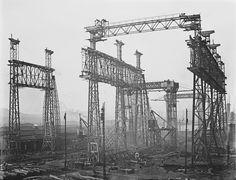Harland & Wolff . Belfast. Grúas