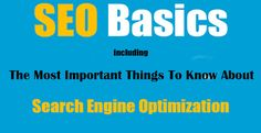 In this #article, I am describing some important terms that are oftenly used in #SEO which everyone should know if they want to start a #website or blog in order to get high #traffic.  #SEM #SMO #Internet #Business