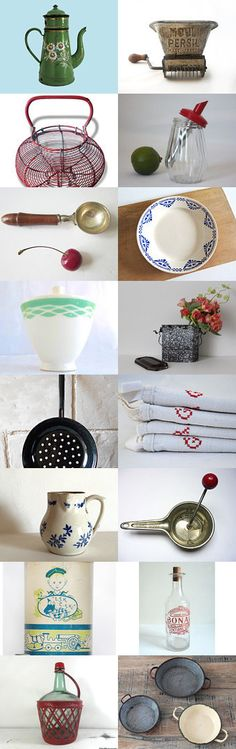 Ail et fines herbes by Victor on Etsy--Pinned with TreasuryPin.com #Etsy #EtsyFR #FrenchVintage #French #vintage #VintageFinds #vintagefr #retro #colorful #EtsyFinds #kitchen #KitchenAid #FrenchKitchen