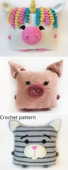 Diy Crochet And Knitting, Love Crochet, Crochet Gifts, Knitting Ideas, Knitting Patterns, Crochet Animal Patterns, Purse Patterns, Crochet Patterns Amigurumi, Crochet Dolls