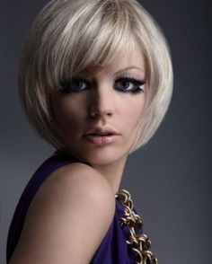 This is a beautiful blonde color, not so much the haircut. Just the color is amazing!