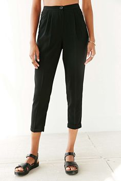 Cooperative Black Slim-Fit Trouser Pant (dyou like these more than the aa ones?)