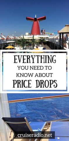We've got everything you need to know about monitoring and taking advantage of price drops for your cruise vacation.