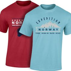 Custom VBS Shirts for Expedition Norway VBS