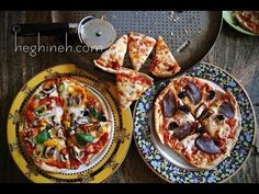 Quick Pizza - Easy Pizza Recipe - heghineh.com