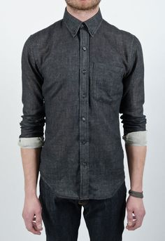 united stock dry goods - double faced bd shirt - If you've never tried these shirts on they fit like a glove, amazingly tailored