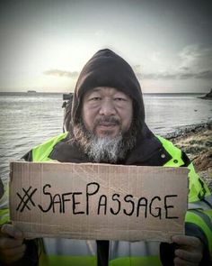 Ai Weiwei has closed his show in Copenhagen in protest of a new law that allows Danish authorities to search the homes of refugees. Ai Weiwei, Refugee Crisis, Amsterdam Art, Wei Wei, Protest Art, People In Need, New Shows, Film Photography, Art