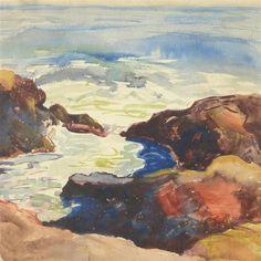 Milton Avery, Coastal View