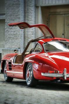 "1956 Mercedes Benz Gullwin Automotive is so horny I can virtually hear somebody asking me ""hey miss miss is that yo automobile? Mercedes Benz 300 Sl, Mercedes Benz Autos, Benz Suv, Mercedes Auto, Mercedes Cls, Bugatti, Maserati, Ferrari, Auto Retro"