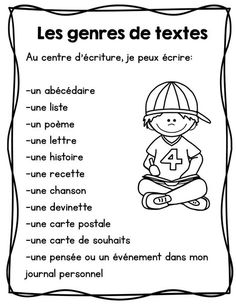 FRENCH writing center/ Centre d'écriture Affiches et outils French Teaching Resources, Teaching French, Teaching Writing, Word Work Activities, Writing Activities, Writing Centers, French Articles, French Language Learning, Spanish Language