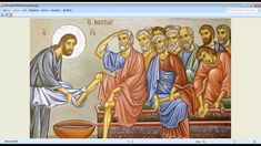 The Lord Gave Us a Testament This Day Religious Icons, Religious Art, Holy Thursday, Maundy Thursday, In Remembrance Of Me, Christian Holidays, Religious Paintings, Before Sunrise, Last Supper