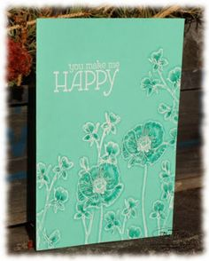 Stampin' Up! Occasions Catalog Happy Watercolor stamp set Sneak Peek!