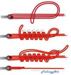 Follow Us to see more Fishing Knots Hook#fishingart #fishing #fishingknot #fishinghook #fishinggear