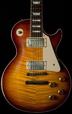 Gibson Les Paul 59 VOS 2014 in Texas Burst