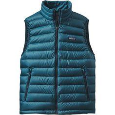 Patagonia - Down Sweater Vest - Men's - Deep Sea Blue
