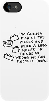 """Ed Sheeran - Lego House Lyrics"" iPhone & iPod Cases by Hannah Julius | Redbubble"