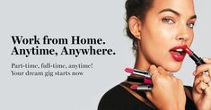 Join the Avon Nation and cash in on your passion. Because when you start your own business and sell Avon, you earn doing what you love. Work from home and earn up to selling Avon anywhere – part-time or full-time in sweats or stilettos. Get started now! Anti Aging, Avon Care, Leadership Programs, Avon Brochure, Avon Online, Make Beauty, Avon Representative, Starting Your Own Business, Be Your Own Boss