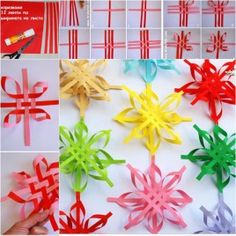 Colorful-SNOWFLAKES-wonderful DIY