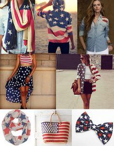 Fourth of July Fashion Ideas