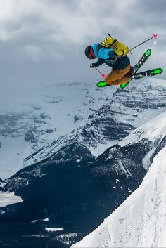 Why you'll love skiing the Rockies at these three ski resorts: Lake Louise, Sunshine Village and Mount Norquay.