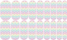 Spring Chevron These Custom Jamberry Nail Wraps have all been personally designed by me. If you'd like to order any of the designs you see here please contact me for details!  Text: (360)840-6186 Email: Jammin.Jessie1@gmail.com Follow me on Facebook: www.facebook.com/jessiesjamberryboutique Check Out My Website:  jessiesobania.jamberry.com #Jamberry #NASDesigns #NailWraps #NailArt #spring #pastel #chevron #pink #yellow #blue #lavendar #rainbow