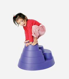This height adjustable Gonge Mountain is a cool toy for kids who love the climb | Climbing toys for toddlers  and preschoolerse...