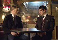 """""""Friends don't owe friends, silly. They just do favors because they want to."""" - Penguin #OldFriend #gotham"""