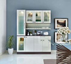 Crockery unit - Crockery Units Luxury Interior Designers in Whitefield Home Decors in Bangalore – Crockery unit Room Door Design, Kitchen Room Design, Home Decor Kitchen, Interior Design Kitchen, Bar Kitchen, Kitchen Wood, Kitchen Layout, Kitchen Stuff, Kitchen Furniture