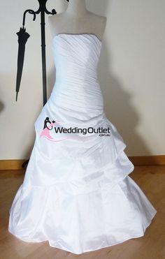 Victoria ruffle mermaid wedding dress - WeddingOutlet.co.nz   Wedding Outlet  Wedding Dresses Online   Bridesmaid Dresses   Wedding Favours