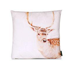 Bambi on Snow <3  Ma kochane kropeczki i duży czarny nosek. A czeka na Was tutaj:  http://www.vinnst.pl/pr6374-poduszka-bambi-on-snow-645.html