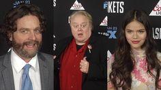 FX's Baskets Premiere Zach Galifianakis, Louie Anderson, Malia Pyles, Ju...