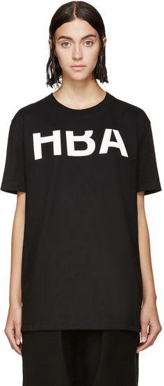 0c18aa4e147 Hood by Air Black Rehab T-Shirt