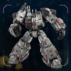 Metroplex - The Biggest Of The Autobots - Activated By Optimus Prime To Protect Cybertron