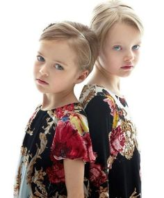 Kristina Pimenova and Evelina Voznesenskaya | Russian child models Evelina…