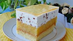 No Bake Desserts, Dessert Recipes, Just Cakes, Homemade Cakes, Cake Art, Vanilla Cake, Sweet Tooth, Cheesecake, Food And Drink