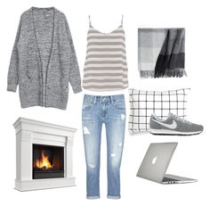 """""""Chill"""" by andthisisthereasonwhy on Polyvore featuring maurices, Speck, Elvang, Unison, AG Adriano Goldschmied and NIKE"""