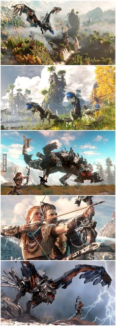 Horizon Zero Dawn Dream of being a game designer? Head to iwantthatgamingcourse.com.au?utm_source=pinterest
