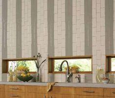 8 examples of subway tiles used in modern room designs - Vertical Tile Backsplash