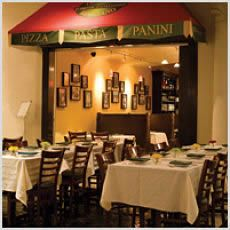 Trattoria Reggiano captures the feel of an authentic Roman sidewalk cafe.