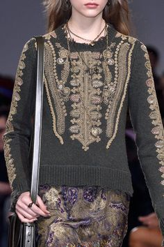 Etro at Milan Fall 2016 (Details)