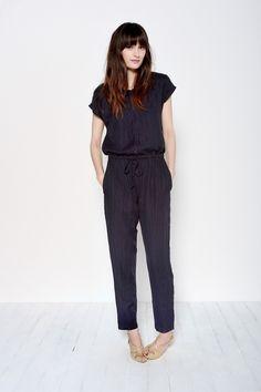 Combinaison Janette Marine - Pantalon - Des Petits Hauts 1