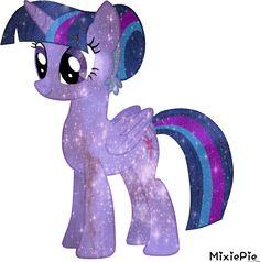 [MLP] Twilight Sparkle Galaxy's Power by MixiePie