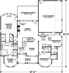 Plan 2066GA: Charming Country Home Plan