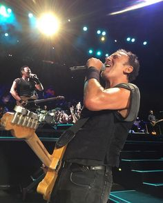 Bruce Springsteen performing in Philly on September 7, 2016.