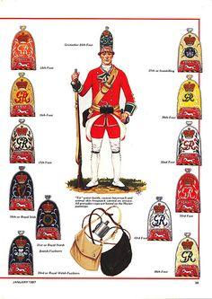 British Army Mitre Caps