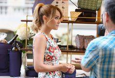 Lauren Conrad's perfect ponytail