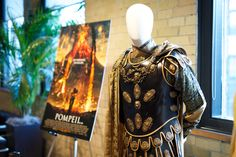 """Detail of costume from """"Pompeii"""" at CAFTCAD Celebrates Costume, September 9th, 2014"""